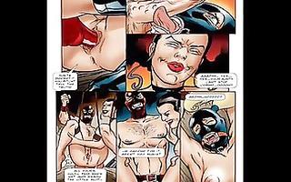 breasty blond sexual thraldom comic toon