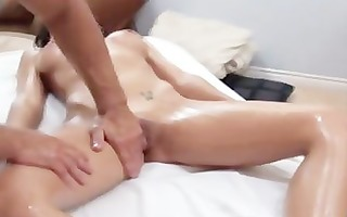 pornstar receives licked and drilled