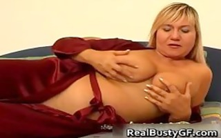 breasty mama on a sexy sex tool fucking session
