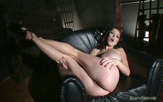 hot dark leather hawt body chick have part4