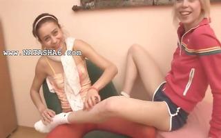 russian natasha and alice at room
