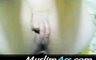 sweet arabian begum enjoys 4 inch arab penis in