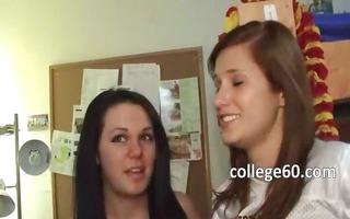 juvenile college students enjoying sex
