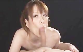 japanese cutie blowjob pov