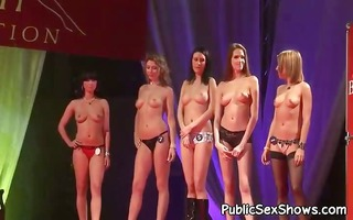 nice-looking strippers posing undressed