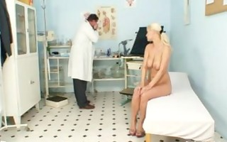 breasty alexa cheeky gyno exam and milk sacks