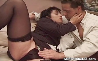 great short haired milf got banged after part4
