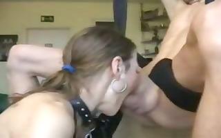 wicked hooker chokes on spunk