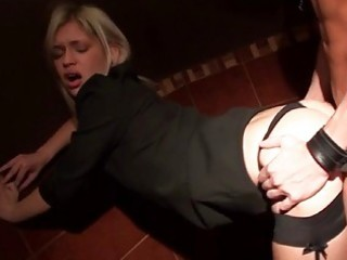 Sex in the public toilet