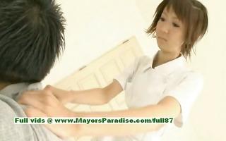 miriya hazuki virginal asian hotty giving a