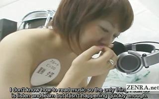 subtitled bizarre japanese nudist instrument