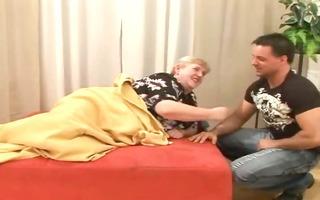 sex a plump old hirsute granny