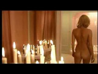Hot blonde Brigitte shows her sexy body and is