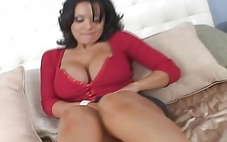 hawt brunette hair with big natural tits flashing