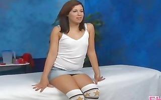 hot 18 year old latina gets drilled hard