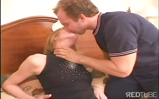 stuffing sexy golden-haired skinny legal age