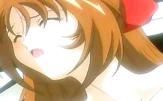 sexy manga cartoons show schoolgirl getting