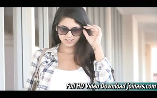 lilly gorgeous brunette adult with ftv