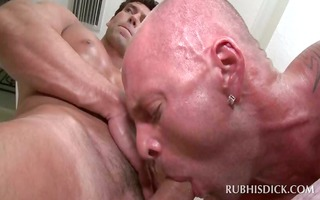 body massage turning into gay ass fuck and