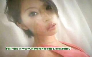 saki ootsuka innocent oriental girl enjoys