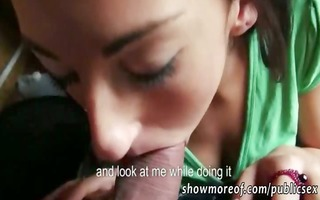 non-professional european chick payed fucked and