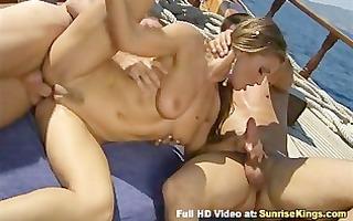 rita faltoyano boat group sex