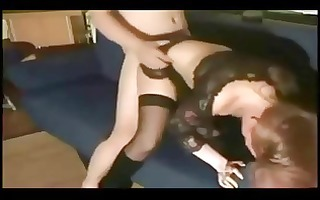 hawt redhead mother i group-fucked on homemade