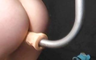 fat blonde annas bizarre femdom machine