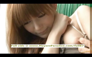 rio sinless oriental hotty is drilled on the bus