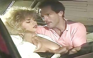 insane fucking in the retro car