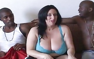 kitty lee huge tits gang bang