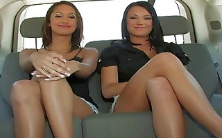 outstanding lesbo sweethearts chatting and