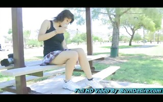 raven beautiful legal age teenager recently