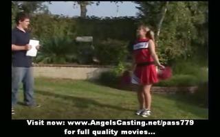 dilettante pleasant blonde cheerleader legal age