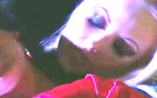lesbo vampires kiss, take up with the tongue and