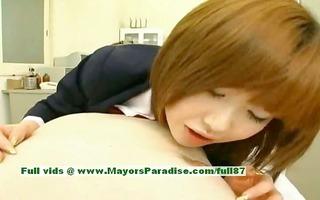 rio hamasaki sinless sweet japanese girl teasing