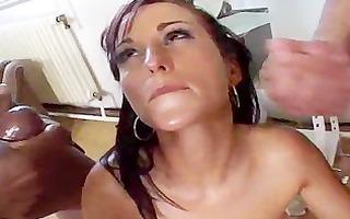 girl dark cum swapping