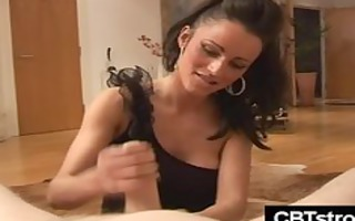 slender sexy babe with large love muffins gives