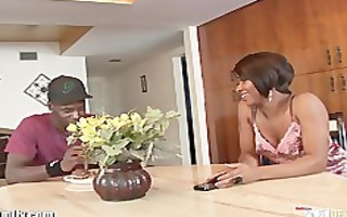 hot ebon girl fucked by her step brother