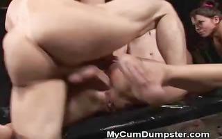gangbang anal fucking