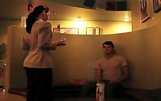 the therapist video femdom strap-on scene