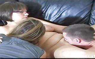 slavemaster mommy teaches son a lesson
