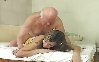 hot blond bunny shags with old older hunk