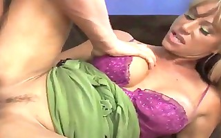 busty blond d like to fuck team-fucked by huge