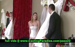 kayla paige stunning breasty bride