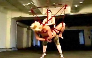 torment of a lesbian!