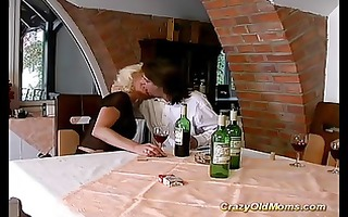 crazy old mamma hard fuck sex and large oral-job