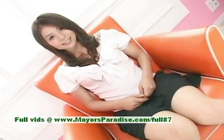 aya hirai sinless oriental beauty has a cute