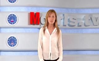 russian moskow hotty tv olga barz
