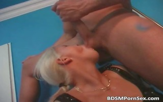 hardcore sex and bdsm play with hot part1